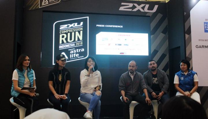 Foto Berita Astra Life Lindungi 8.000 Pelari 2XU Compression Run Indonesia 2018