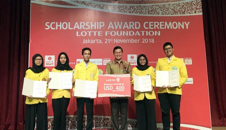 Foto Berita Lotte Foundation Tebar Beasiswa ke 11 Universitas