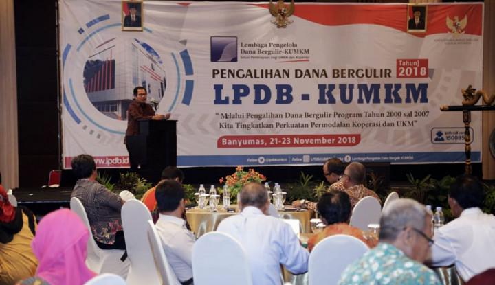Foto Berita LPDB KUMKMDorong Pengalihan Dana Bergulir