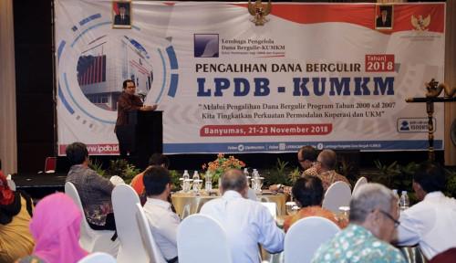 Foto LPDB KUMKMDorong Pengalihan Dana Bergulir