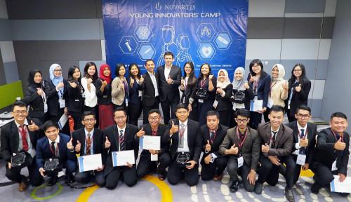 Foto 5 Talenta Terbaik dari Novartis Young Innovators' Camp Terpilih untuk Kembangkan Inovasi