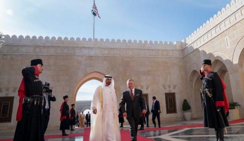Raja Abdullah II Lakukan Kunjungan Pertama Perbatasan dengan Israel