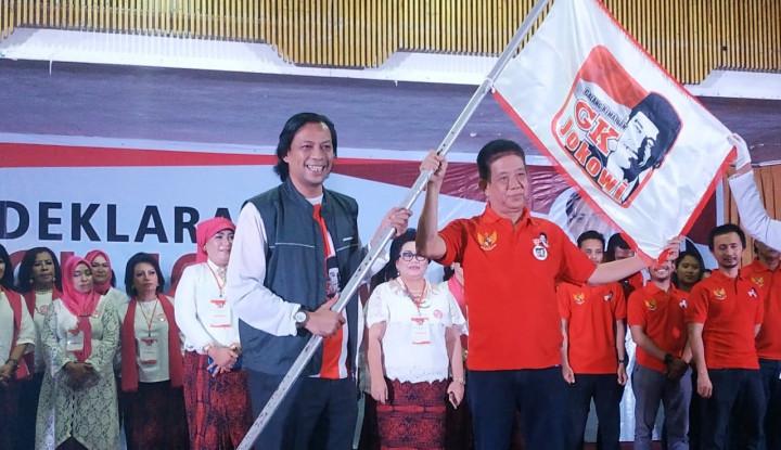 Foto Berita Deklarasi GK Jokowi Sumut, Targetkan 70% Suara Milenial dan Kaum Ibu