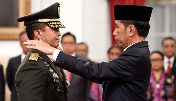 Kalau Andika Perkasa Jadi Panglima TNI, Presiden Jokowi Ketiban Durian Runtuh: Apalagi 2024 Ada...