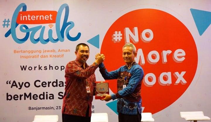 Ratusan Guru dan Murid di Banjarmasin Ikuti #InternetBaik 2018 - Warta Ekonomi
