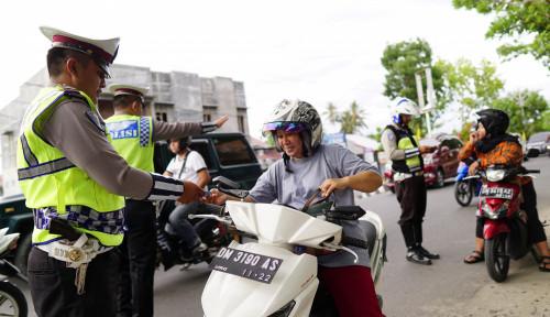 Foto Polres Indramayu Sita 232 Motor Hasil Kejahatan