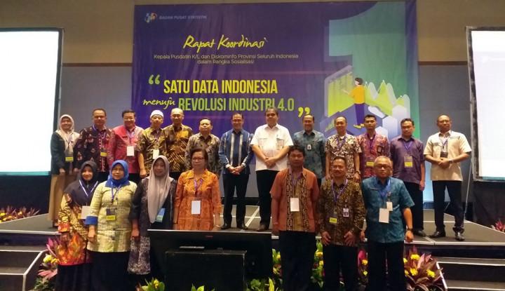 Foto Berita Menuju Revolusi Industri 4.0, BPS Ingin Realisasikan Satu Data Indonesia