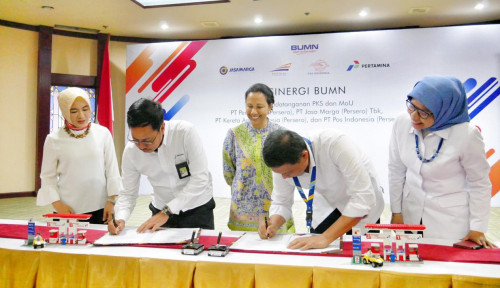 Foto Pertamina–Jasa Marga Kerja Sama Penuhi Kebutuhan BBM di Jalur Trans Jawa