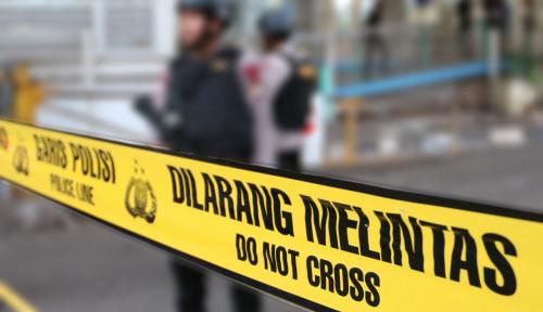 Foto Sumber Ledakan Dekat Masjid Istiqlal, Dari...