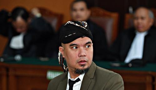 Foto Tuding Jaksa Tak Punya Dasar, Ahmad Dhani Minta Dibebaskan