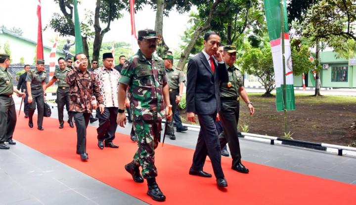 Foto Berita Lagi, Jokowi Ingatkan Netralitas TNI