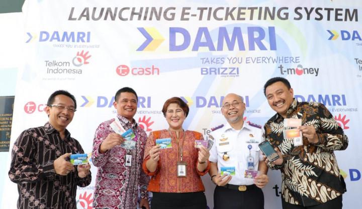 Terapkan E-Ticketing, Perum DamriGaetTelkom Indonesia - Warta Ekonomi