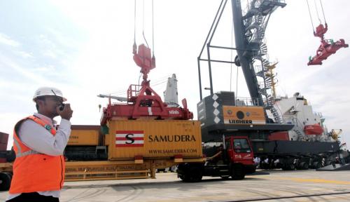 Foto Jadi Hub Internasional, Begini Kesiapan Pelabuhan Kuala Tanjung