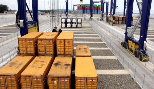Pelindo 1 Gandeng Swasta Optimalkan Layanan Terminal Curah Kering Pelabuhan Belawan