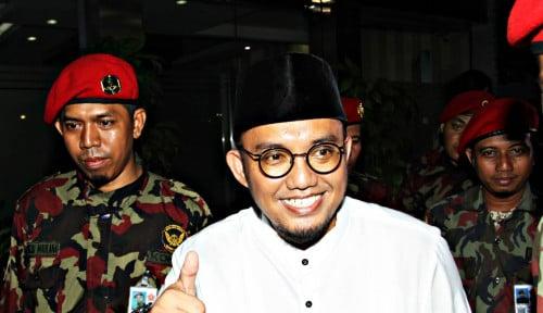 Foto Prabowo-Sandi Terpilih, Dahnil: 10 Persen Dana Pendidikan Dialokasikan....