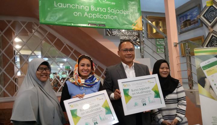Foto Berita Jajakan Oleh-oleh Haji, MuslimApp Jalin Kerja Sama dengan Bursa Sajadah