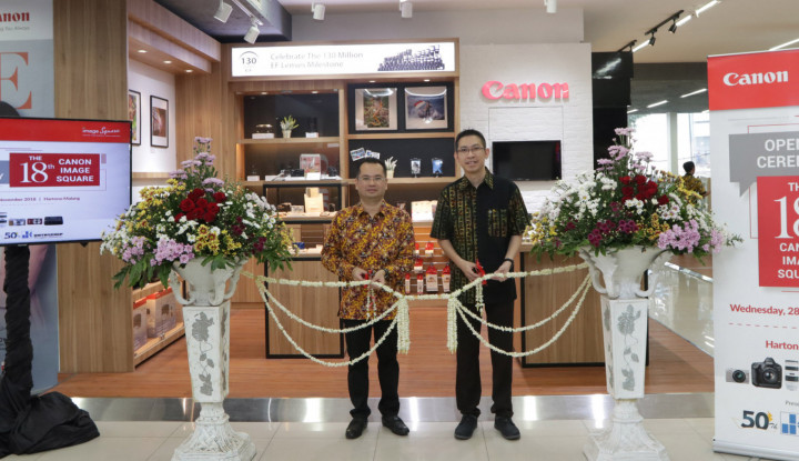 Foto Berita Datascipt Hadirkan Canon Image Square di Malang