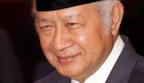 Foto Soeharto Presiden Favorit, Partai Berkarya: Potret Jujur!?