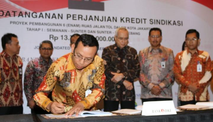 Bank DKI Pimpin Sindikasi BPD Pembiayaan Proyek Pembangunan 6 Ruas Tol - Warta Ekonomi