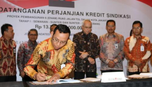 Foto Bank DKI Pimpin Sindikasi BPD Pembiayaan Proyek Pembangunan 6 Ruas Tol