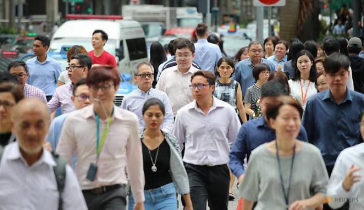 Foto Berita Upah Pekerja di Singapura Tembus Angka S$4.400