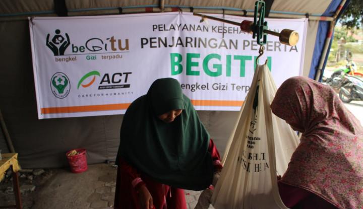 Foto Berita Bengkel Gizi Terpadu ACT Pulihkan Penderita Malnutrisi di Lombok