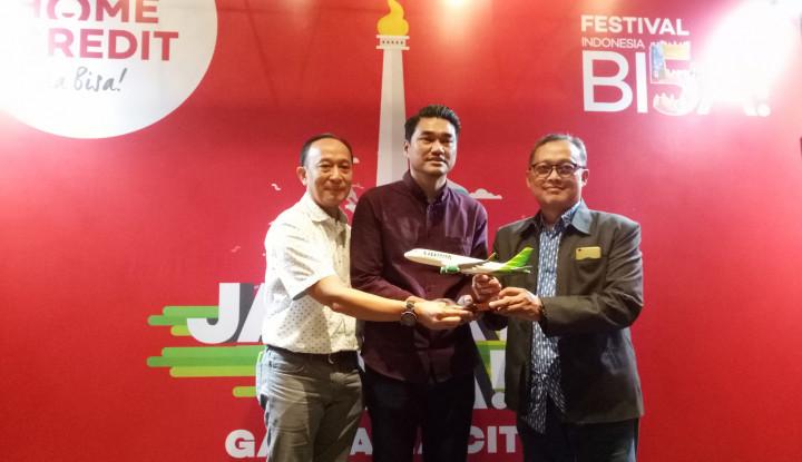 Foto Berita Tutup Festival Indonesia Bi5a!, Home Credit Luncurkan Layanan Pembiayaan Tiket Citilink