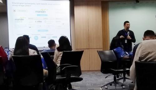 Foto Kembangkan Digital Banking, Bank Mandiri Duet dengan Platform Chatting Terkemuka
