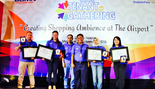 Foto Angkasa Pura I Bandara Hasanuddin Gelar Tenant Gathering 2018