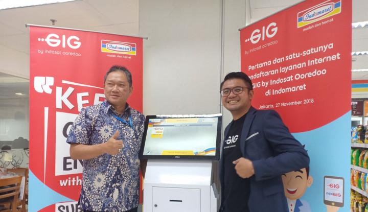 Foto Berita Gandeng Indomaret, GIG Mudahkan Pendaftaran Layanan Pelanggan