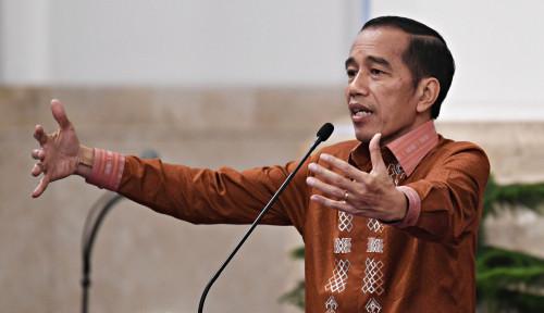 Foto Persiapan Debat Pertama, Jokowi: Mantul!
