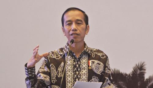 Foto Ditanya Soal Percepatan Pencairan THR 2019 dan Gaji ke-13 untuk PNS, Jawaban Jokowi 'Kece'