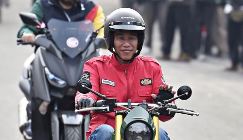 Foto Jokowi dan Janji Sambungkan Banda Aceh-Lampung di 2024