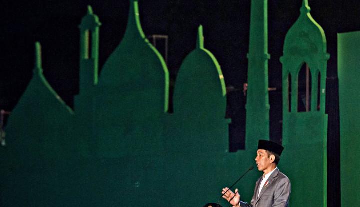 Hentikan Sebut Jokowi Tidak Perhatian pada Islam, Buktinya... - Warta Ekonomi