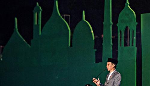 Foto Ulama Berkasus Hukum Jangan Diartikan Krimanisasi, Jokowi Sebut Contohnya...
