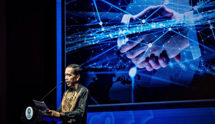 Foto Berita Jokowi: Komunikasi Pelaku Ekonomi Kian Membaik
