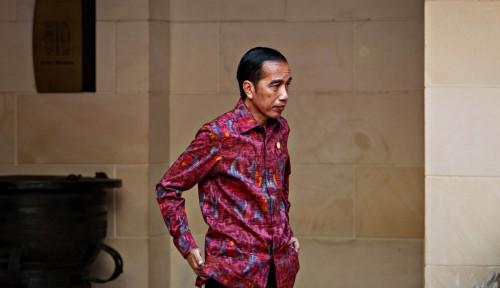 Foto Penyebab Elektabilitas Jokowi Turun Adalah...