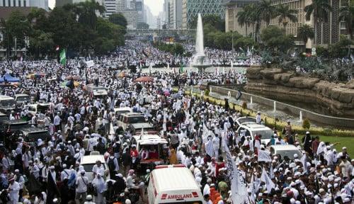 Foto 2 Ribu Orang Bakal Geruduk Gedung DPR RI, Mau Tangkap Harun Masiku