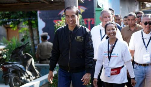 Foto Tunggu Saat Debat Besok, Jokowi Bakal Buka-bukaan Soal Novel