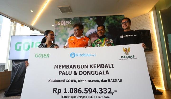 Foto Berita Galang 1 Miliar, Go-Jek Hingga Kitabisa.com Restrukturisasi Sulteng