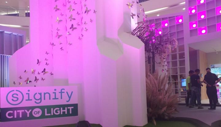 Foto Berita City of Light, Pameran Berbasis IoT dengan Beragam Inovasi