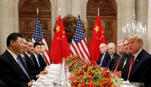 Foto AS Ingin Langkah Konkret China dalam 90 Hari