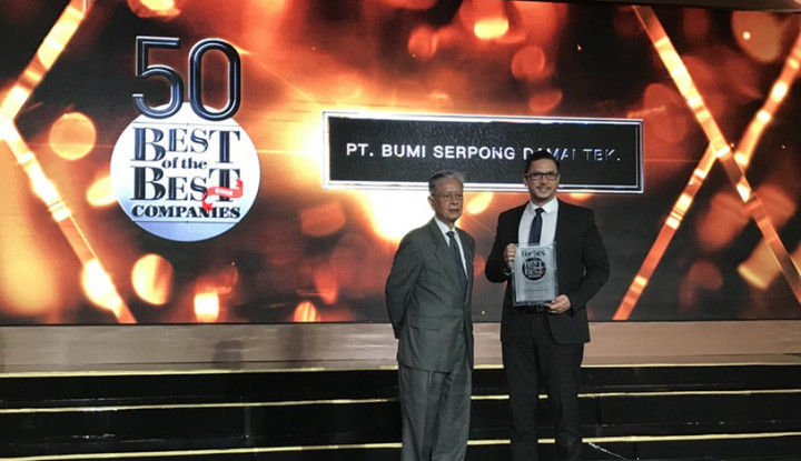 Sinar Mas Land Kembali Raih Best of The Best Awards dari Forbes Indonesia - Warta Ekonomi