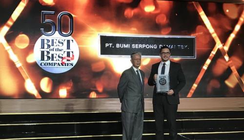 Foto Sinar Mas Land Kembali Raih Best of The Best Awards dari Forbes Indonesia