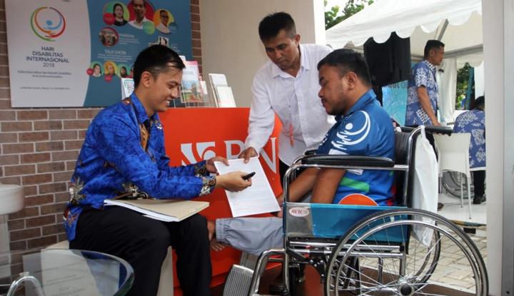 Foto Berita Mensos Sebut BNI Bank Ramah Disabilitas