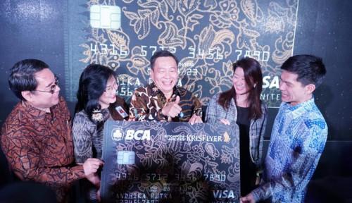 BCA Perkenalkan Kartu Kredit BCA Singapore Airlines Krisflyer Infinite
