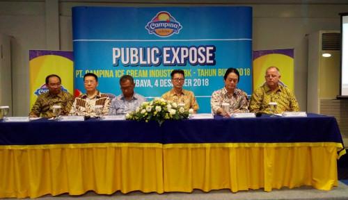 CAMP Sambut Bisnis 2019, Campina Catat Laba Bersih Rp44 M