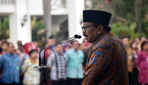 Foto Pakde Karwo Minta Minta Janji Politik Kepala Daerah Terpilih Ditepati
