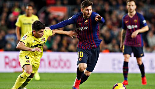 Foto 2 Gol Telat Messi dan Suarez Buat Barcelona Raih 1 Poin di Markas Villareal