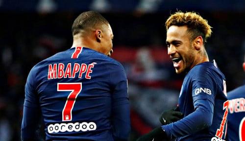 Foto Pelatih PSG Masih Berharap Neymar Segera Pulih